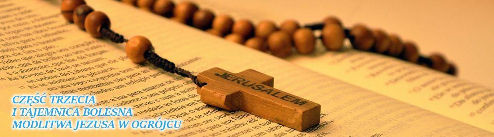 Różaniec. Pierwsza Tajemnica Bolesna - Modlitwa Jezusa w Ogrójcu