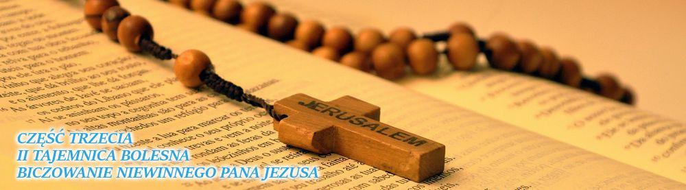 Różaniec. Druga Tajemnica Bolesna - Biczowanie niewinnego Pana Jezusa